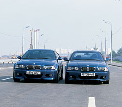 BMW 330Ci, BMW M3 Coupe