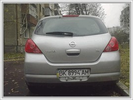 Nissan Tiida Hatchback 1.8 AT